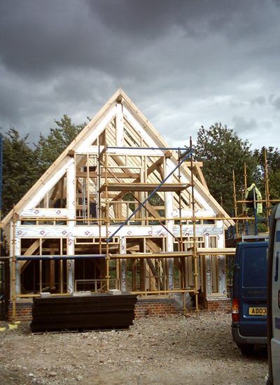 Timberframes by JW Construction